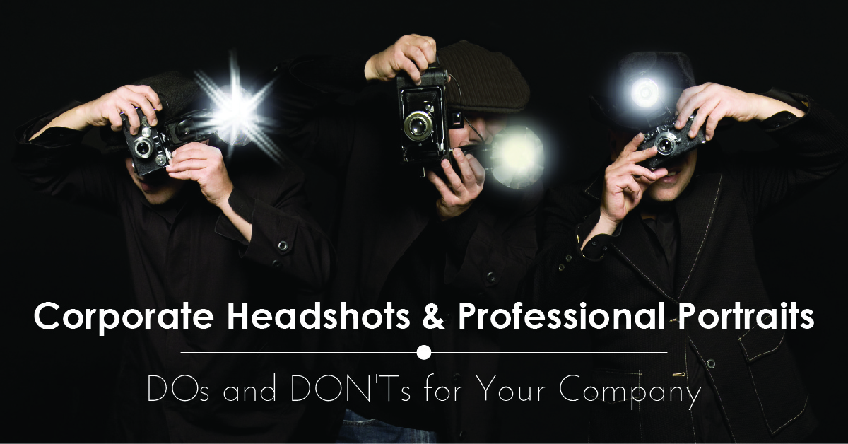 corporate headshots do as and donts